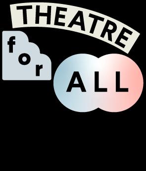 THEATRE for ALL ラーニングプログラムのロゴ